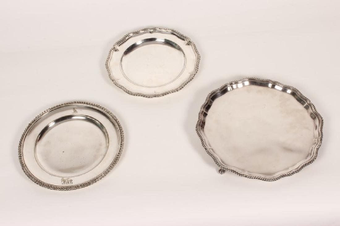 Two 19th Century Silver Plate Dishes,