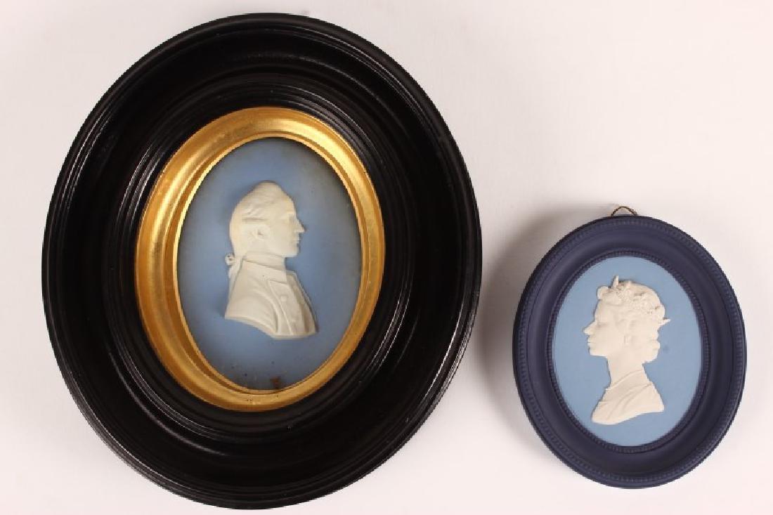 Framed Wedgwood Oval Portrait Plaque,