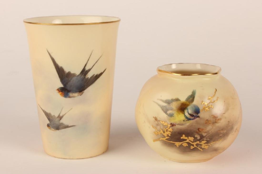 19th Century Royal Worcester Beaker,