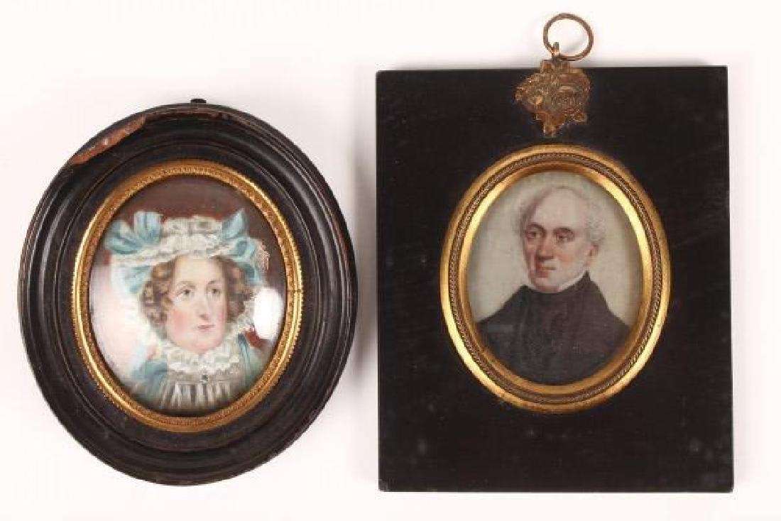 Victorian Oval Portrait Miniature,