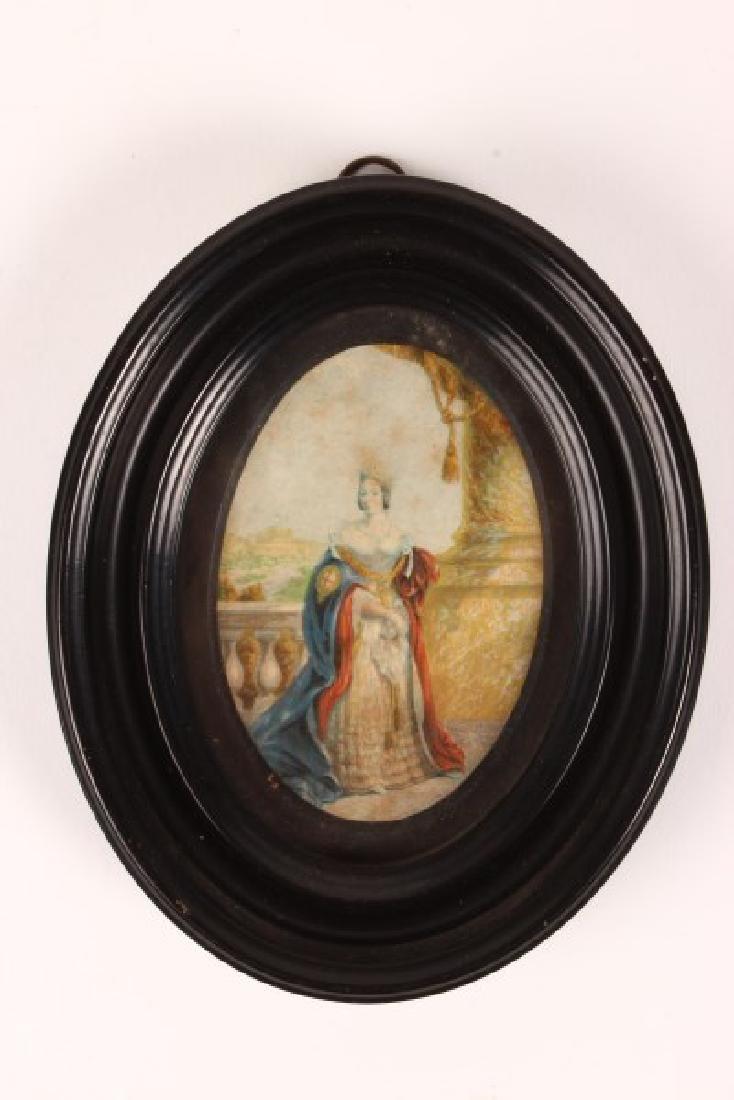 Victorian Portrait Miniature,