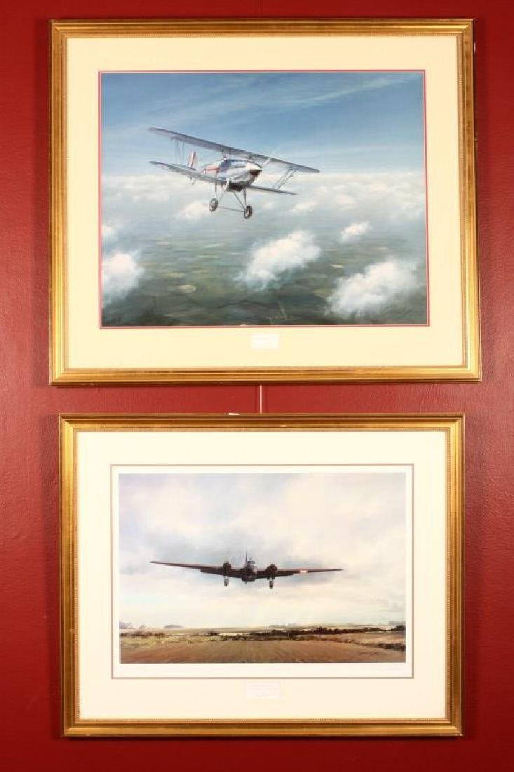 Two Aviation Prints by John Young,