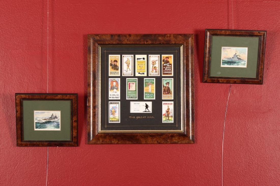 Collection of Wills Cigarette Cards Commemorating