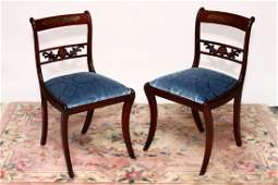 Fine Pair of Regency Chairs