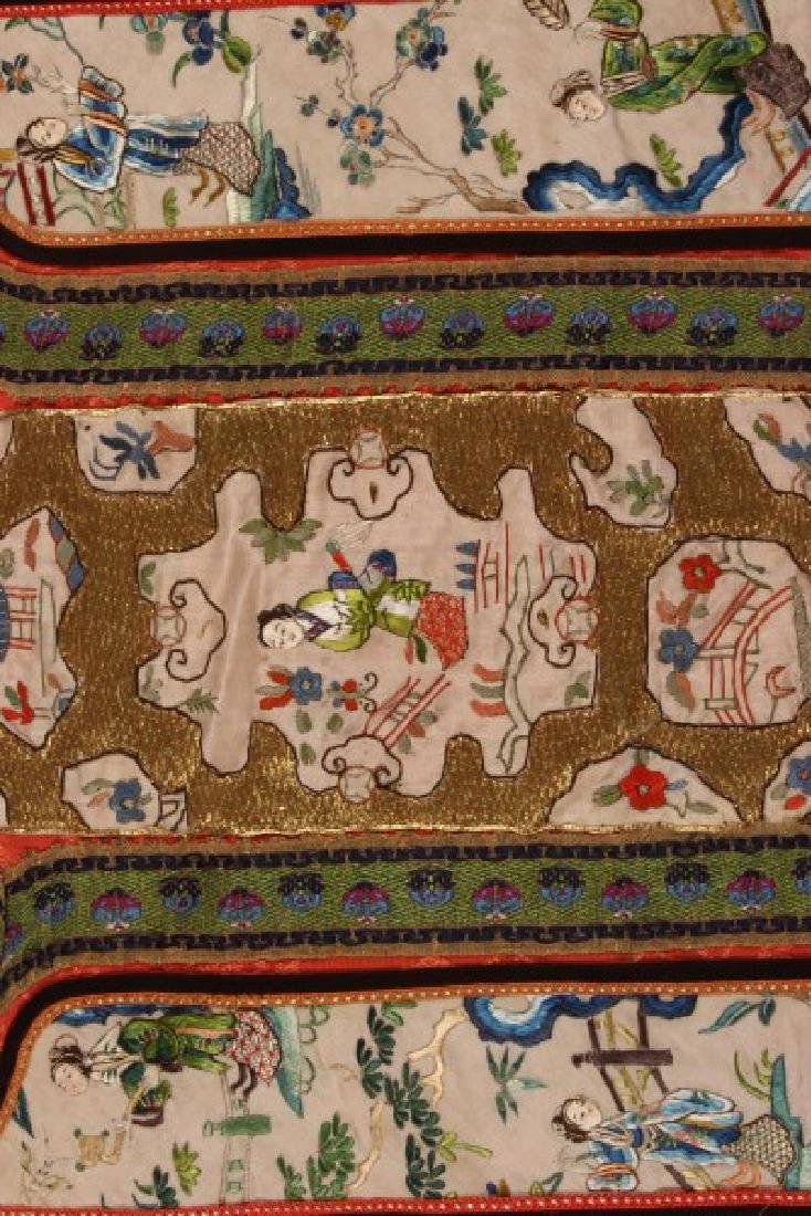 Chinese Late Qing Dynasty Skirt, - 5