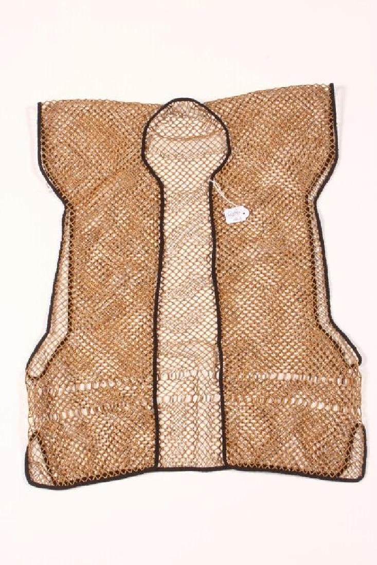 Rare Chinese Late Qing Dynasty Bamboo Vest,