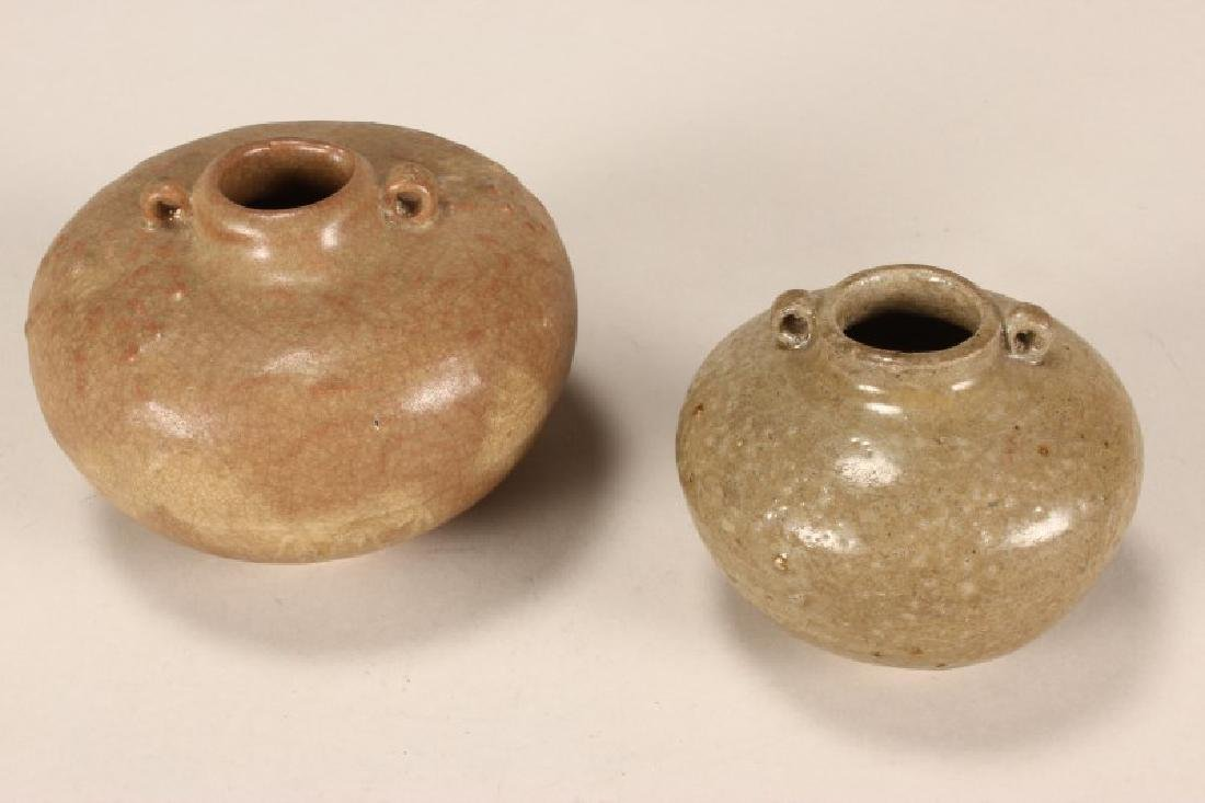 Two Chinese Song/Yuan Dynasty Jarlets,