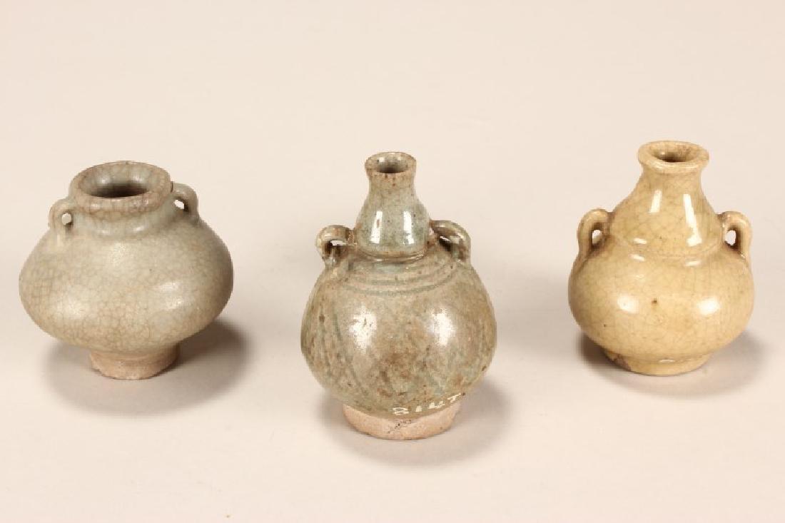 Chinese Ming Dynasty Celadon Jarlet,