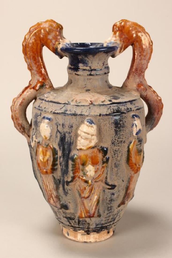 Chinese Twin Handled Vase,