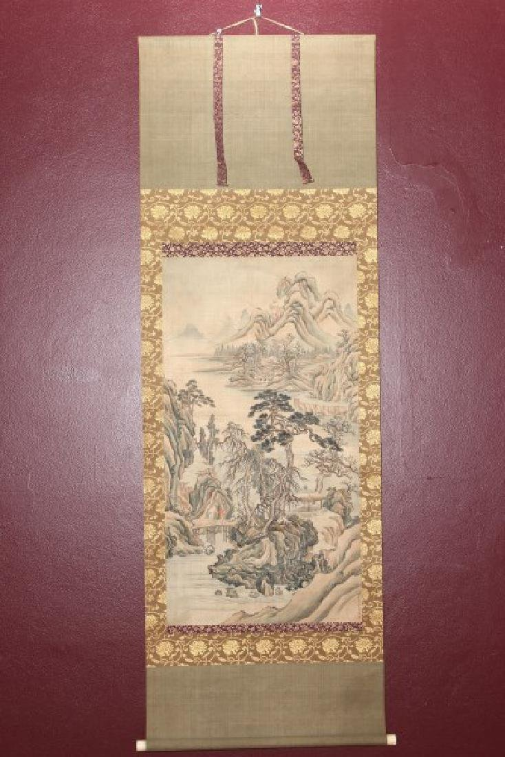 19th Century Japanese Scroll,