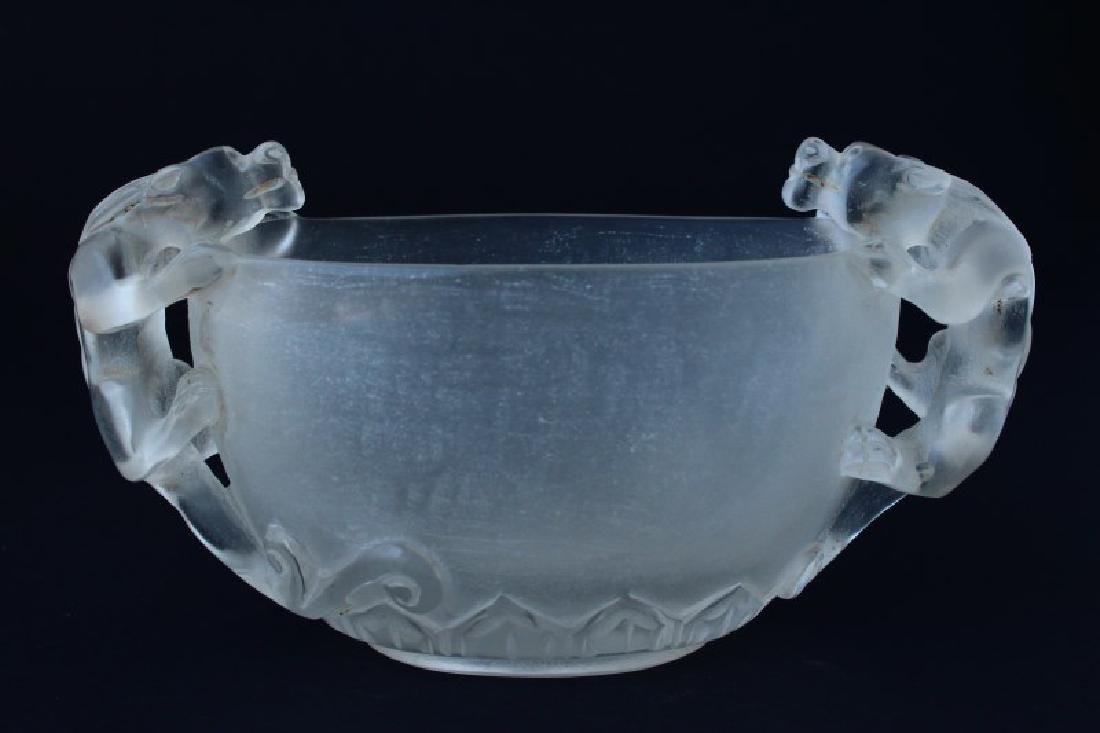 Chinese Twin Handled Libation Cup,