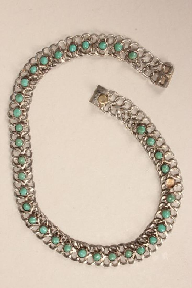 Ladies Mexican Sterling Silver and Turquoise