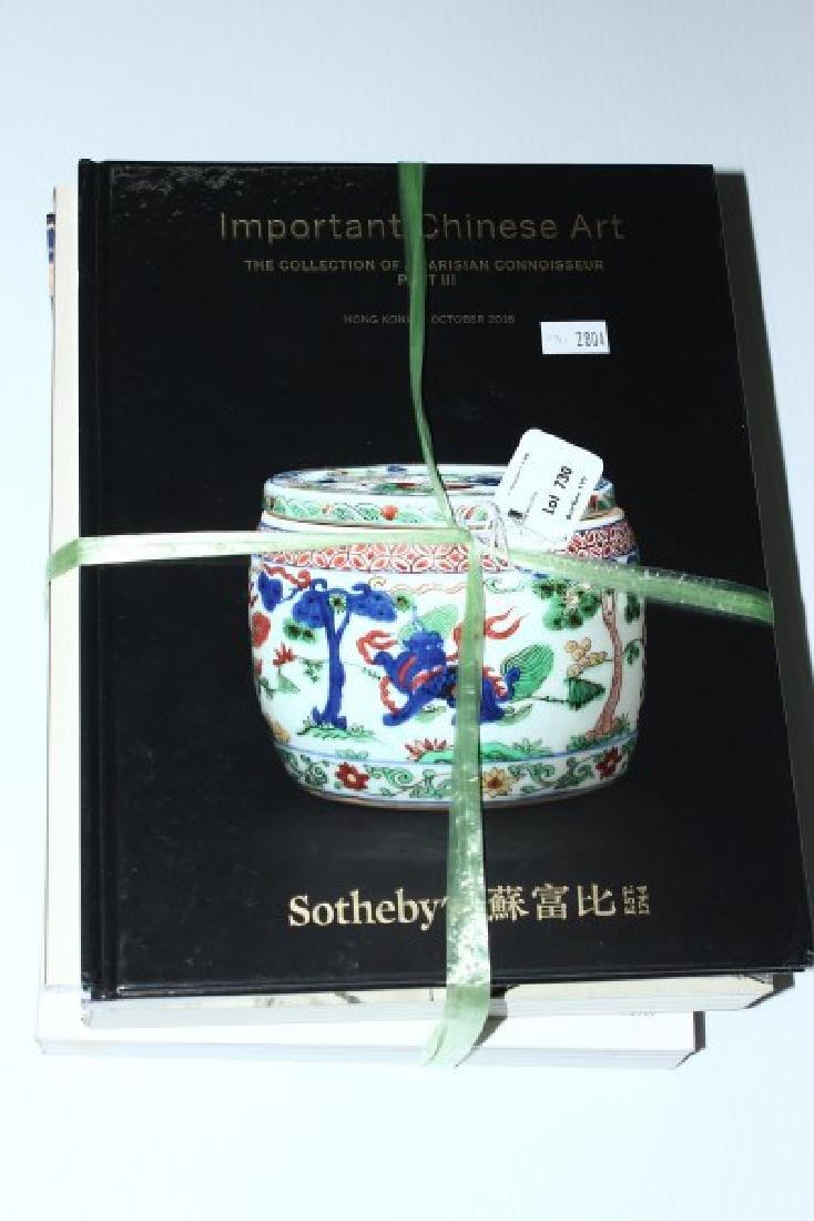 Quantity of Asian Art Auction Catalogues,