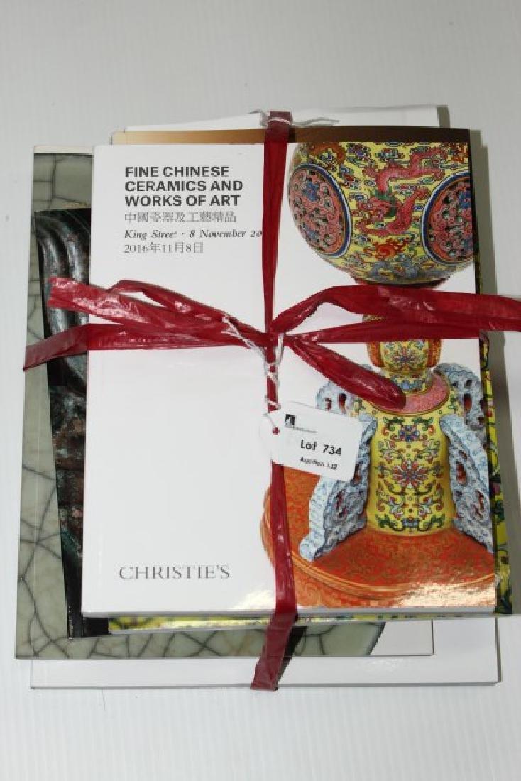 Eight Chrisites Asian Art Catalouges,