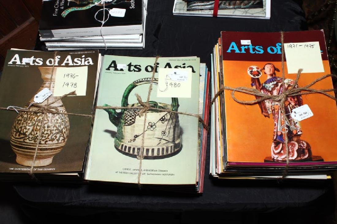 Complete Set of Arts of Asia Magazines 1971-1979,