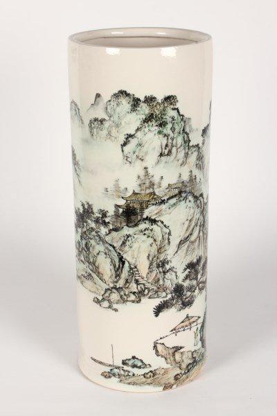 Chinese Porcelain Large Floor Vase,