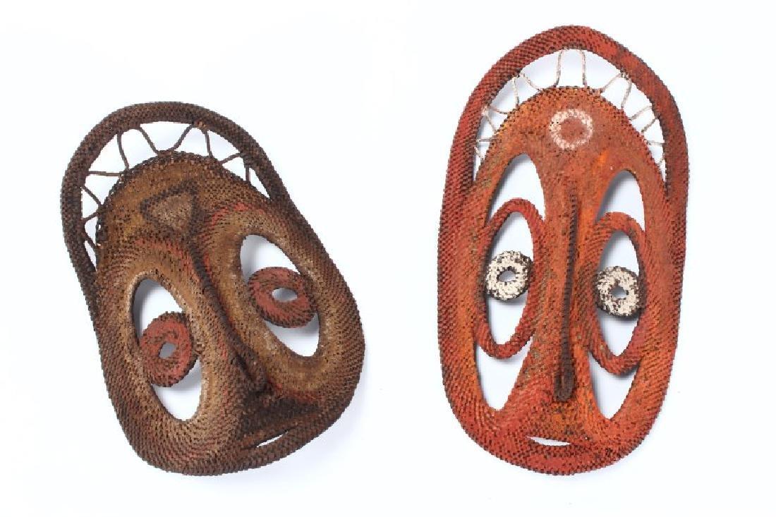 Two Yam Masks,