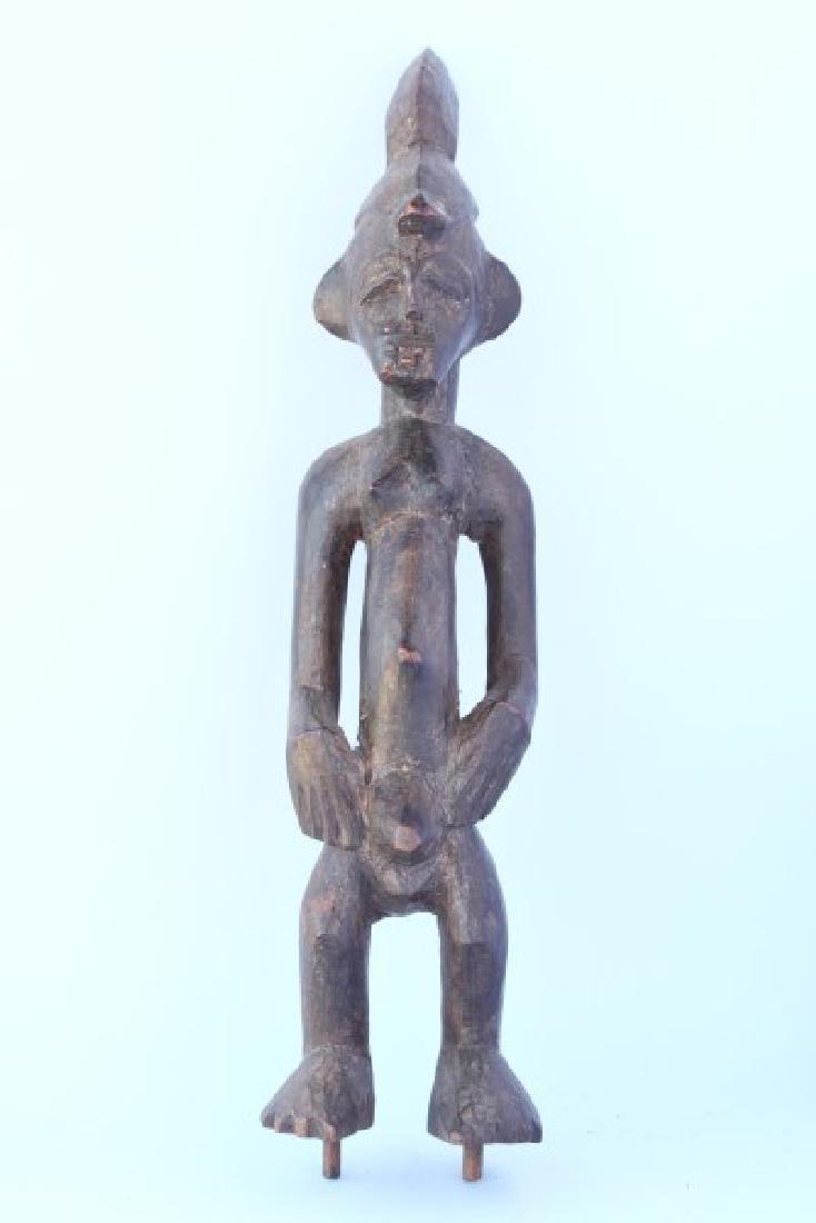 Small Hemba Male Ancestor Figure or Singiti ,