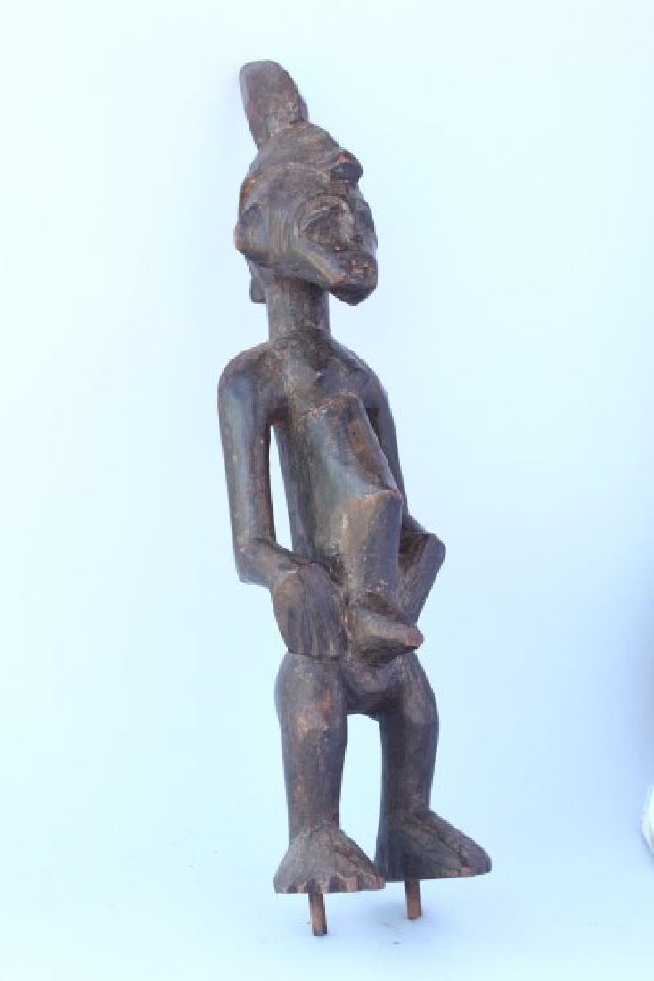 Small Hemba Male Ancestor Figure or Singiti , - 3