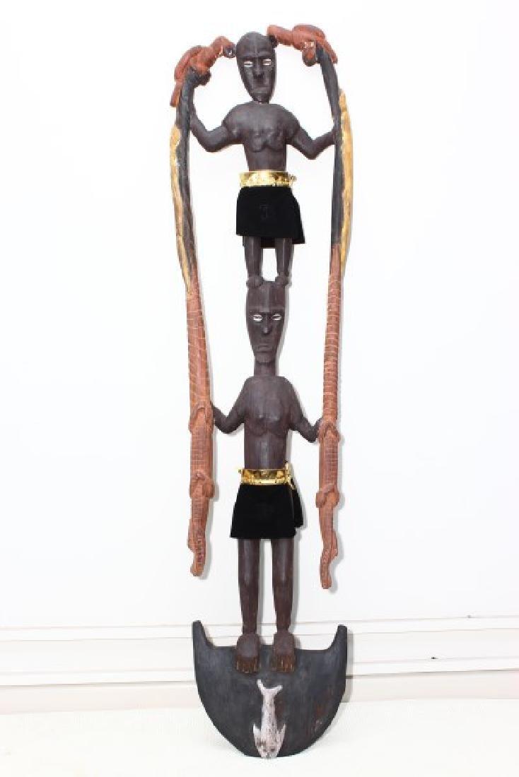 Papua New Guinea Figural Hook,