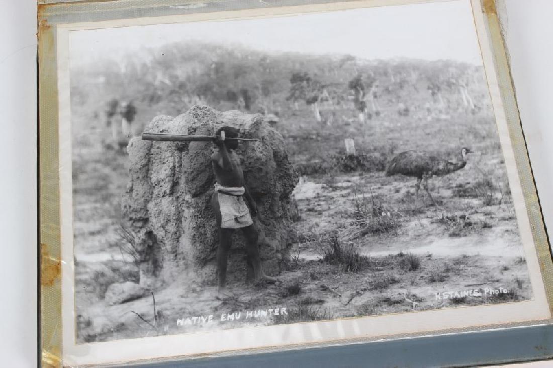 Set of Eleven Photographs of Aborigines,