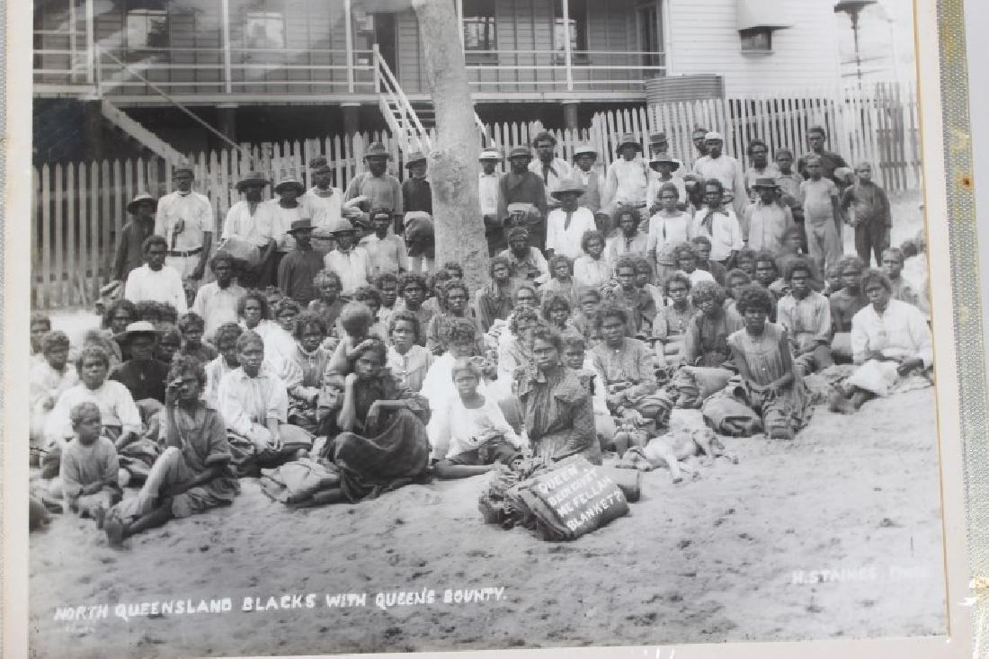 Set of Eleven Photographs of Aborigines, - 2