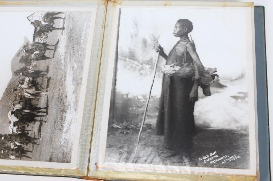 Set of Eleven Photographs of Aborigines, - 4