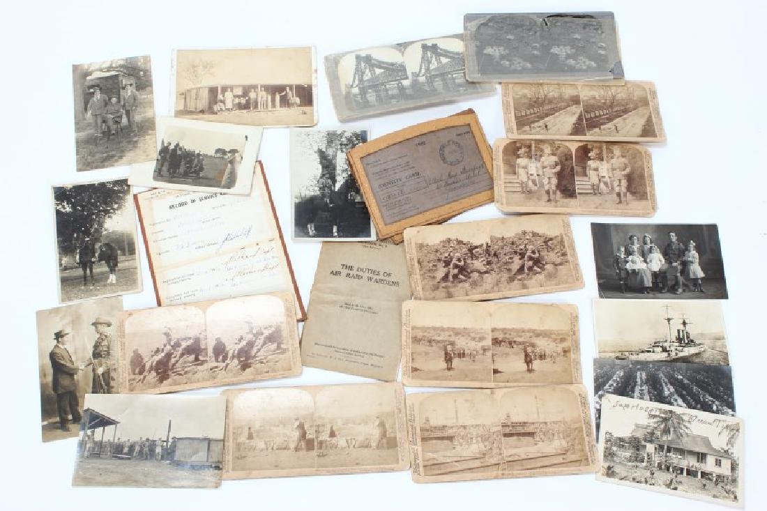 Quantity OF Early 20th Century Photographs