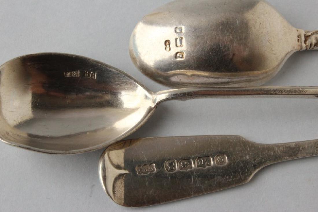 Three Silver Spoons, - 4