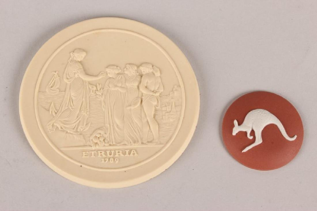 Two Australian Related Wedgwood Plaques,