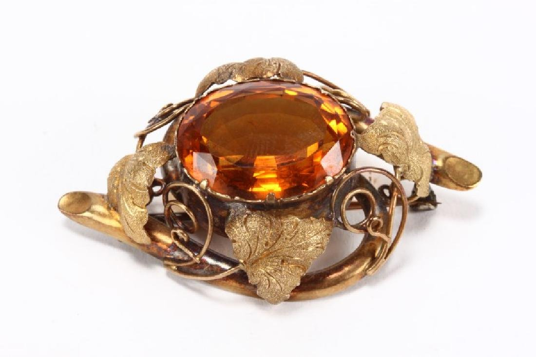 Late Victorian Brooch,