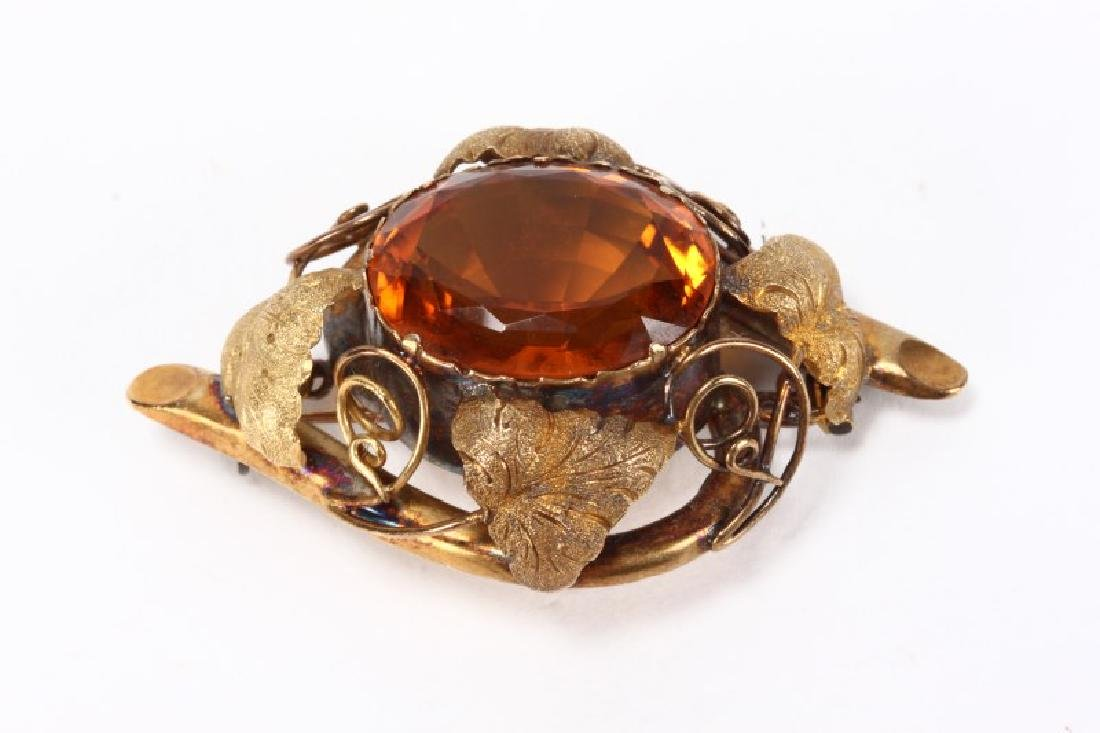 Late Victorian Brooch, - 2