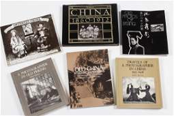 Six Reference Books on Chinese Photography,