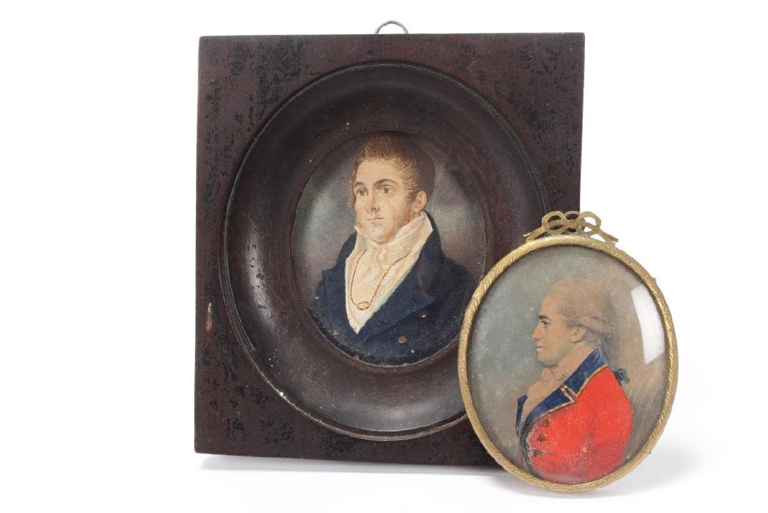 Good 19th Century Portrait Miniature of Gentleman,