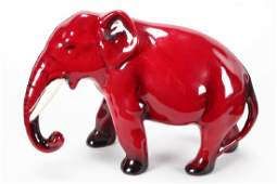 Royal Doulton Flambe Elephant