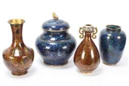 Chinese Cloisonne Jar and Cover