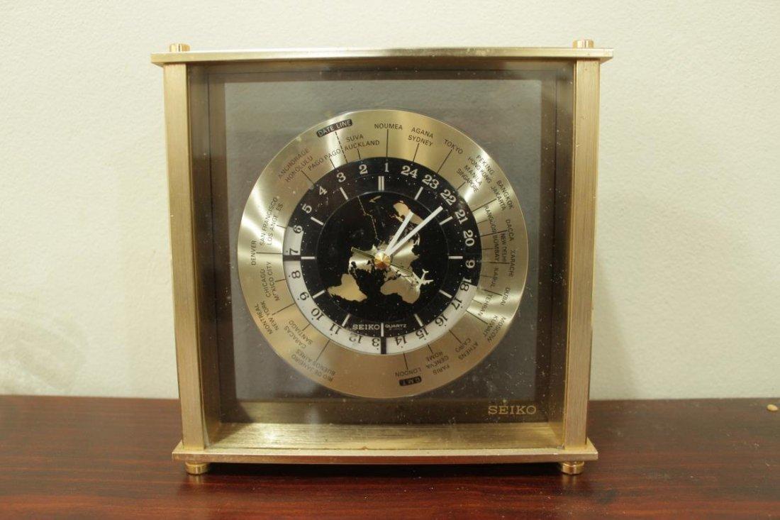 Seiko World Time Mantle Clock,