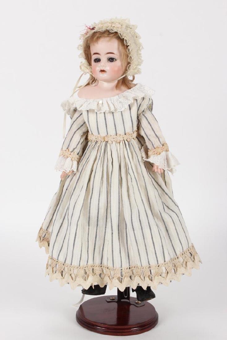 Antique German Ernst Heubach Bisque Head Doll,