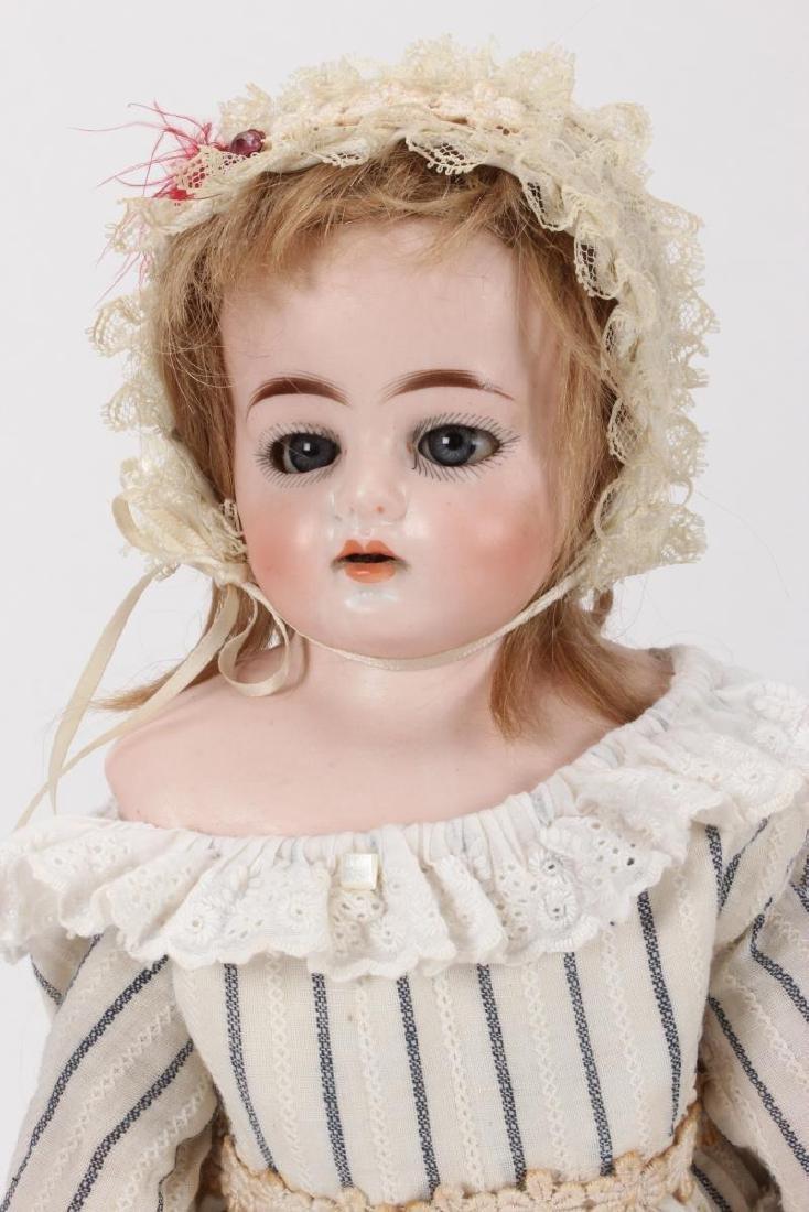 Antique German Ernst Heubach Bisque Head Doll, - 2