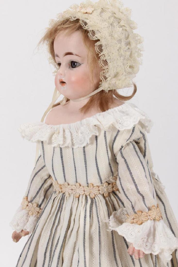 Antique German Ernst Heubach Bisque Head Doll, - 3