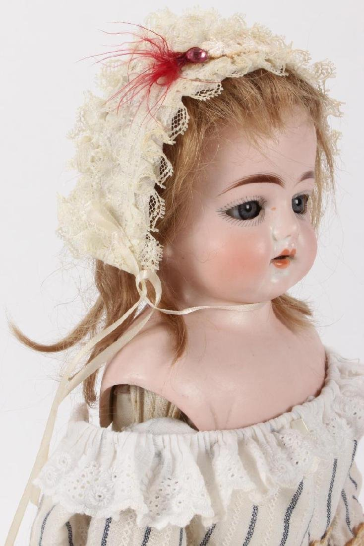 Antique German Ernst Heubach Bisque Head Doll, - 5