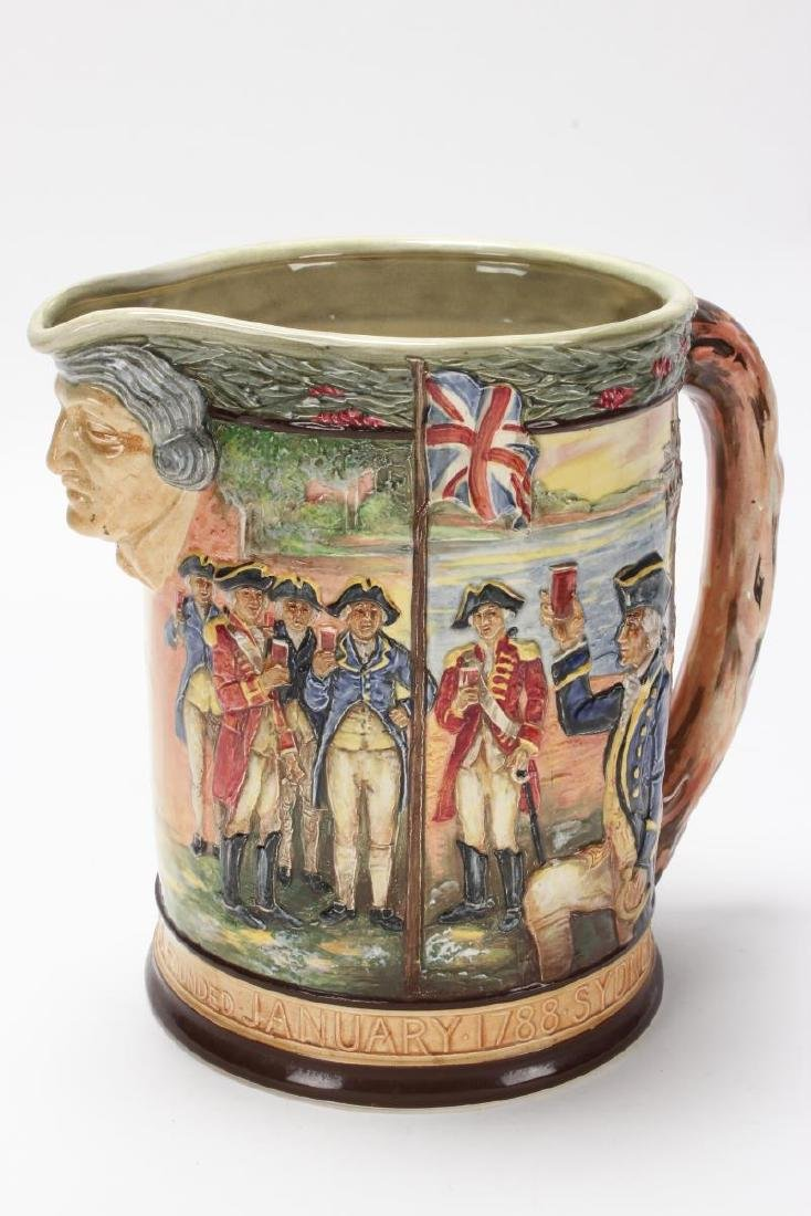 Large Royal Doulton Captain Phillip Jug,