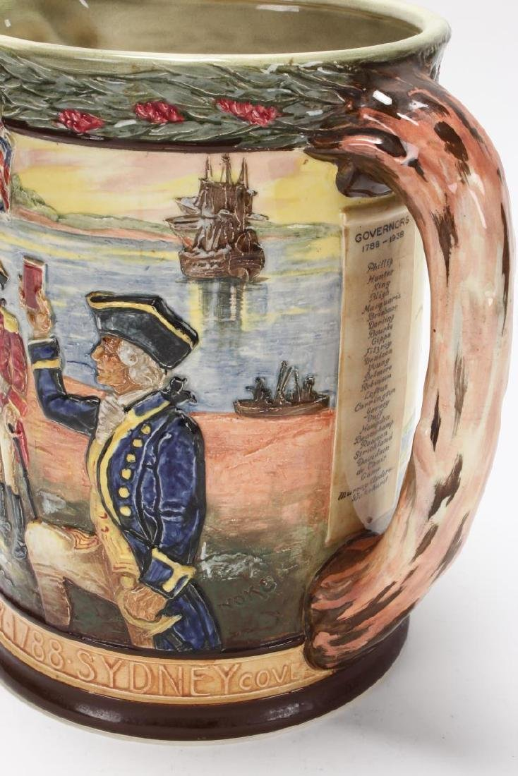 Large Royal Doulton Captain Phillip Jug, - 4