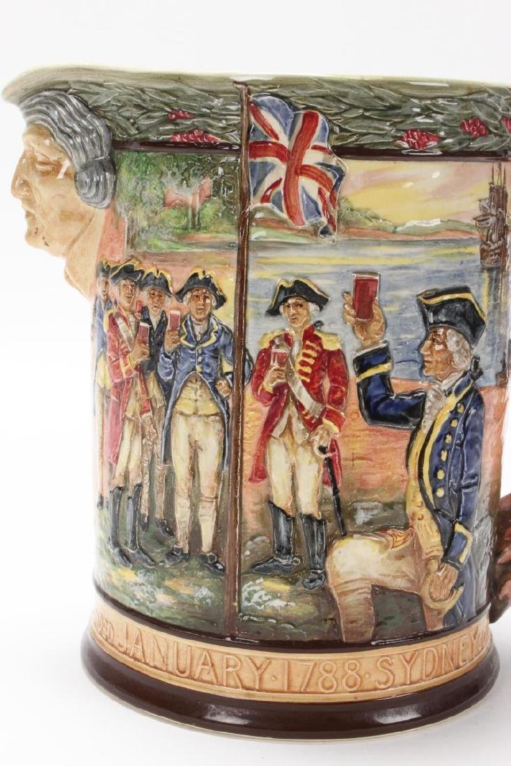 Large Royal Doulton Captain Phillip Jug, - 6