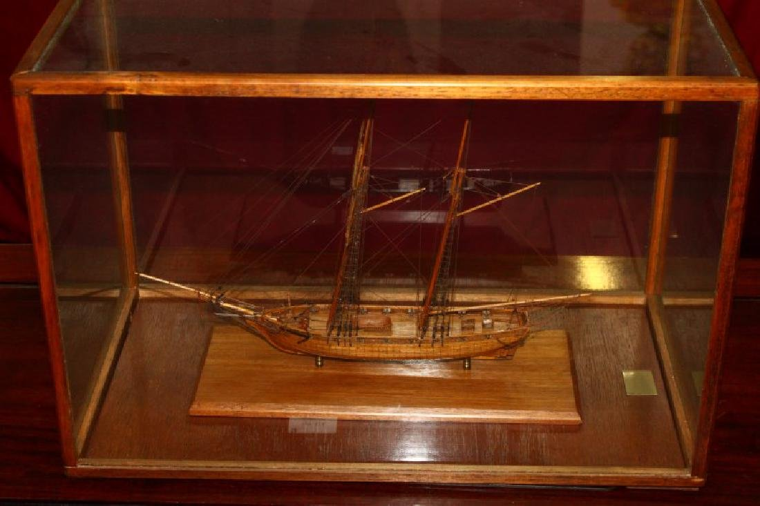 Scale Model of the HMS Saltire,