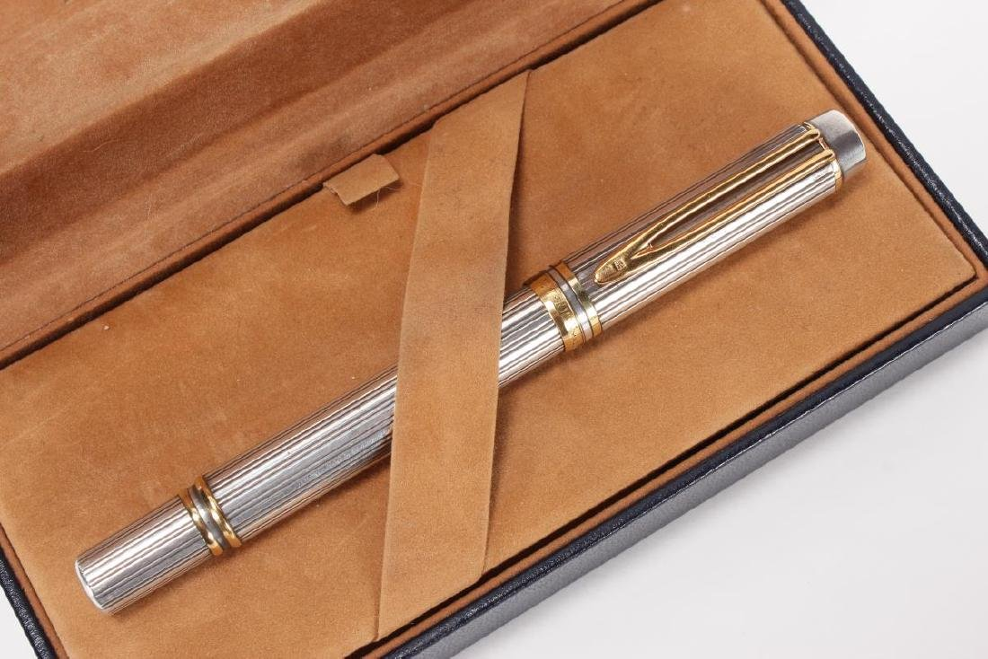 Waterman Ideal 18ct Gold and Silver Fountain Pen,
