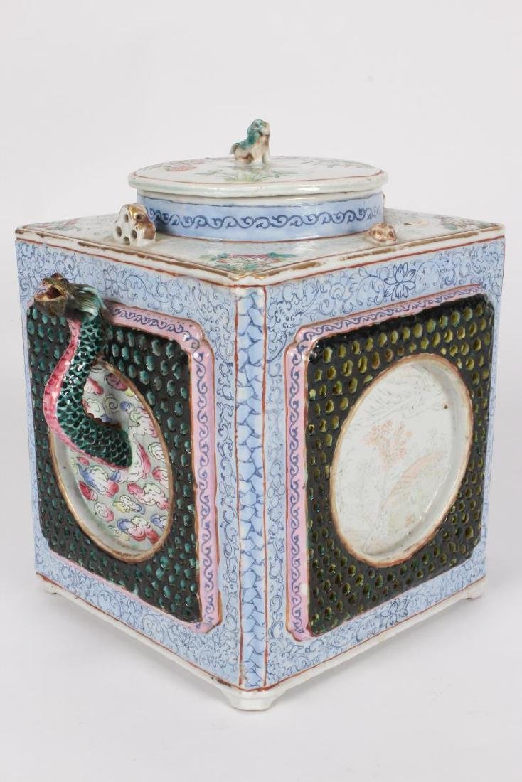 Rare and Unusual Chinese Qianlong Period Tea Pot,