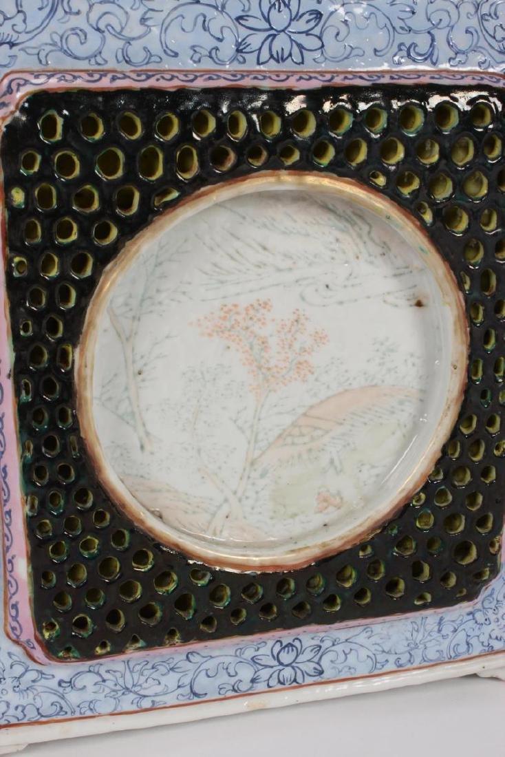 Rare and Unusual Chinese Qianlong Period Tea Pot, - 3