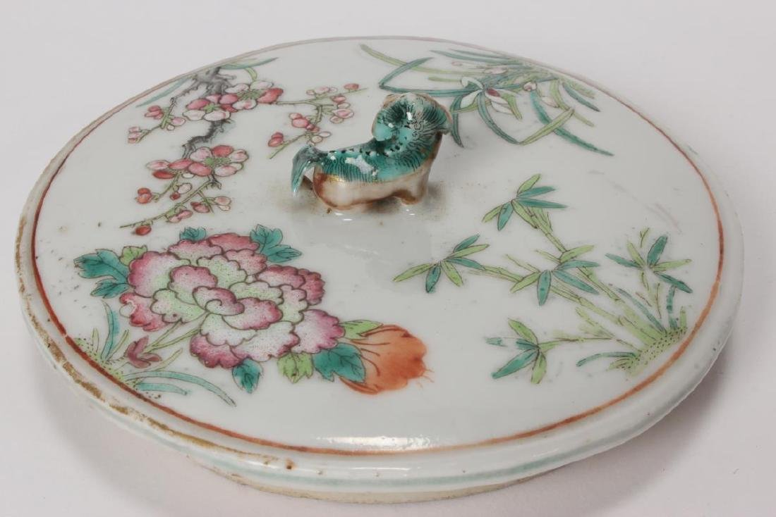 Rare and Unusual Chinese Qianlong Period Tea Pot, - 9