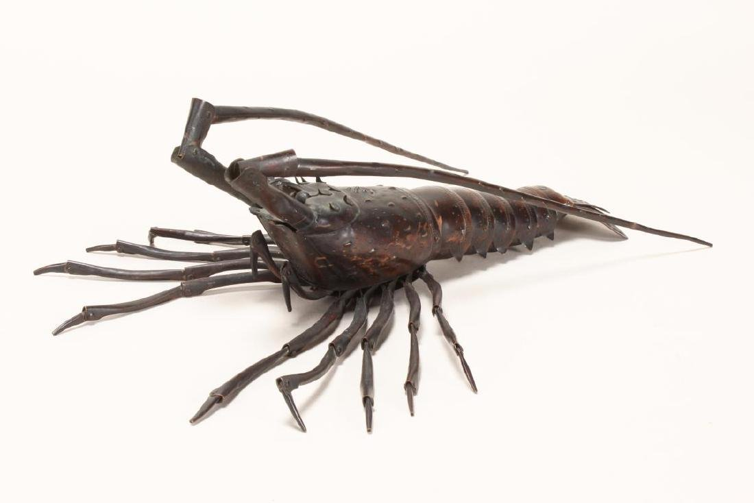 Wonderful Japanese Meiji  Articulated Lobster,